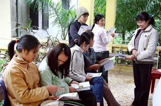 Trung tâm Tư vấn dịch vụ Dân số - Kế hoạch hóa gia đình Hà Nội
