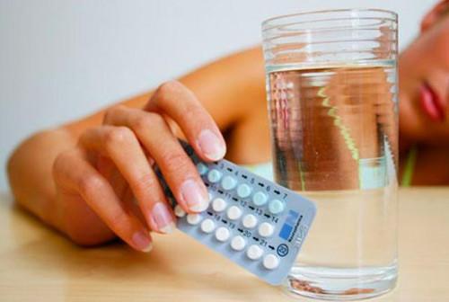 dùng thuốc tránh thai