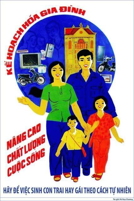 khẩu hiệu kế hoạch hóa gia đình