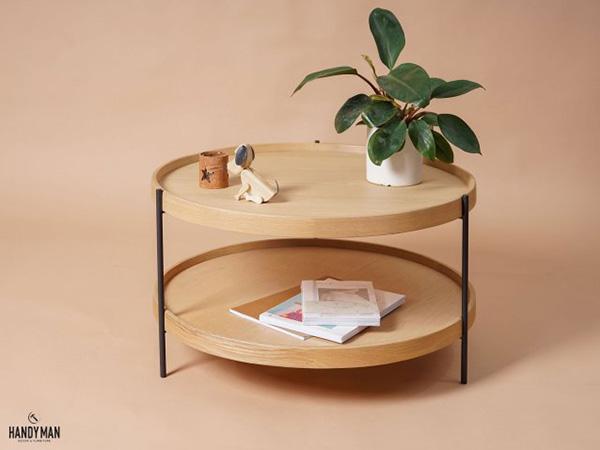 Humla trong danh sách bàn trà gỗ giá rẻ Hà Nội có đường nét tinh gọn, thanh lịch rất bắt mắt