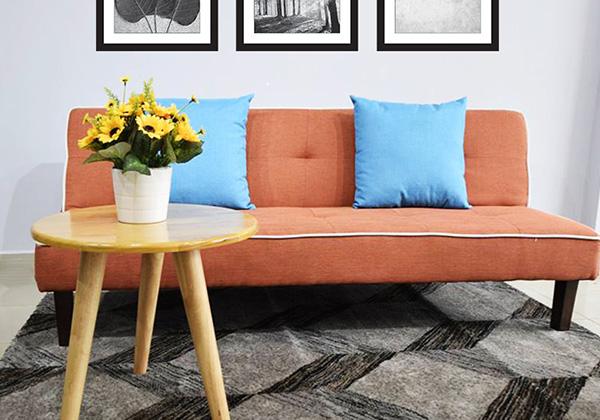 Chiếc sofa Kalloni được làm từ chất liệu bền cao cấp
