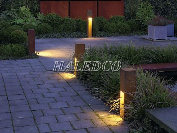 Đèn trụ sân vườn cột thấp công nghệ led cao cấp