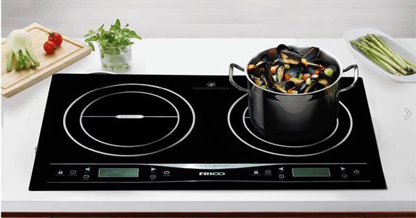 Mặt kính Schott Ceran bếp điện từ Frico